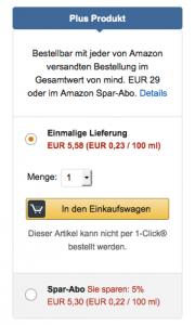 "(Tipp) Amazon ""Plus Produkte"" gratis unter 29 € bestellen"
