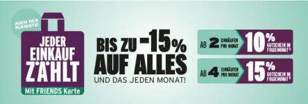 (Info) Beim Merkur bis zu 15% auf einen Einkauf pro Monat sparen