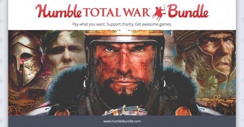 Humble Total War Bundle - Bis zu 6 Spiele ab 0,89€