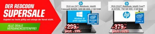 Redcoon Supersale am 16. September 2015 – u.a. mit: HP ProBook 350 G1 für 329€