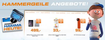 [Saturn] Tagesdeals: zB: HTC RE Action Kamera orange für 103,99€ | Ersparnis: 26%