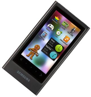 Multimediaplayer Samsung YP-P3JNB 32G für 199€