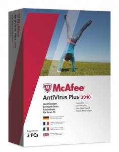 3-User McAfee VirusScan Plus 1 Jahr kostenlos testen