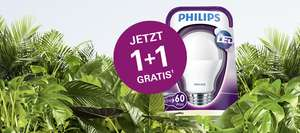 2x Philips LED (9,5 Watt) Energiesparlampen um 6,99 € - 1+1 Gratis Aktion - bis 7.10.2015
