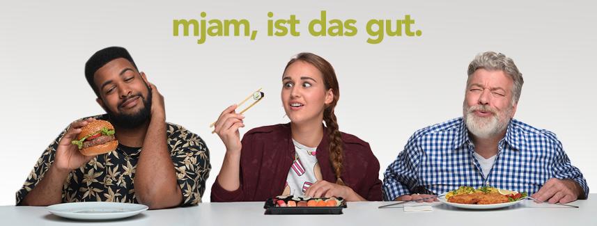 Mjam: 10 € Gutschein für Alle - (für Video auf Facebook)