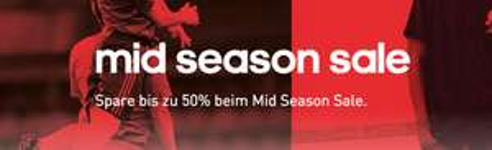 [Adidas] Mid Season Sale - bis zu 50% Rabatt