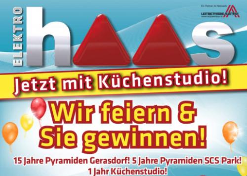 Elektro Haas Jubiläum mit vielen neuen Angeboten! - Nur bis zum 3. Oktober