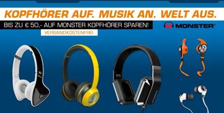 [Saturn] Monster Kopfhörer Aktion - bis zu 29% Ersparnis!