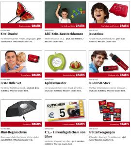[Kurier] 14-Tage Gratisabo u.a. mit 5€ Libro Gutschein!