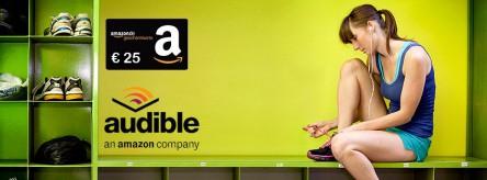 [abogratis] 1 Monat Audible ( 2,95€) abschließen und 25€ Amazon.de Gutschein bekommen