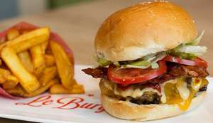 (Top!) Le Burger: 2x Double-Burger mit Toppings + Fries um 9,90 € - bis zu 56% sparen