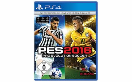 "[Amazon] ""PES 2016"" für PS4 um 40 € – 22% sparen"