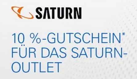 [eBay.de] 10% Saturn Outlet Gutschein ab Donnerstag, den 8. Oktober