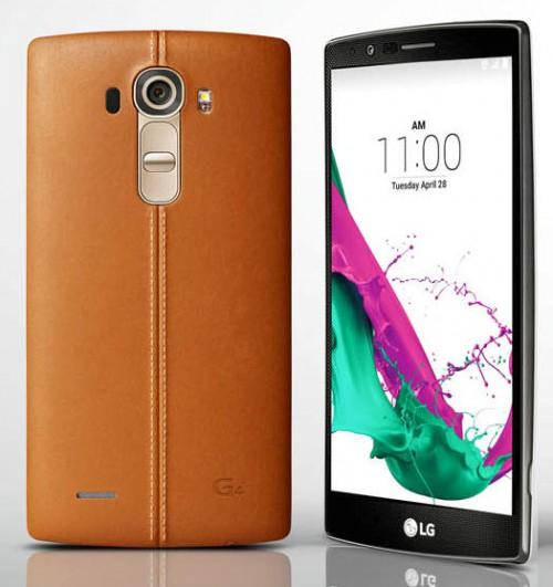 eBay: LG G4 Smartphone (5,5 Zoll, 32 GB Speicher, Android 5.1) braune Lederversion für 388,80€