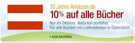 [Rabatt] -10% auf Bücher bei Amazon