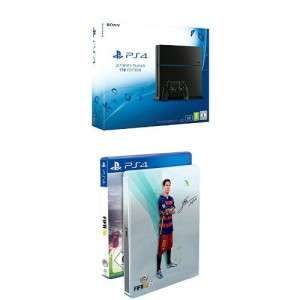 [Amazon] PlayStation 4 1TB [CUH-1216B] + FIFA 16 - Steelbook Edition für 359€