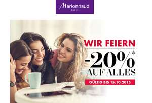 """Marionnaud: 20% auf Alles - """"Womay Day"""" ab sofort gültig"""