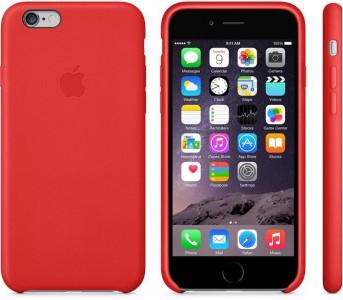 Apple iPhone 6(S) Leder Hülle (rot) um 31 € inkl Versand - 23% sparen
