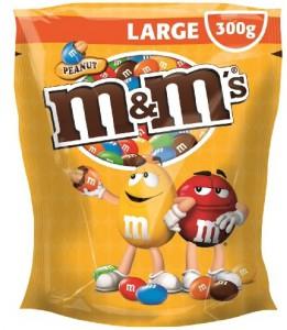 M&M's Choco - 5 Säcke à 300g um 11,10 € - 31% sparen