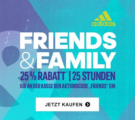 Adidas: 25% Rabatt auf alles! - nur heute gültig