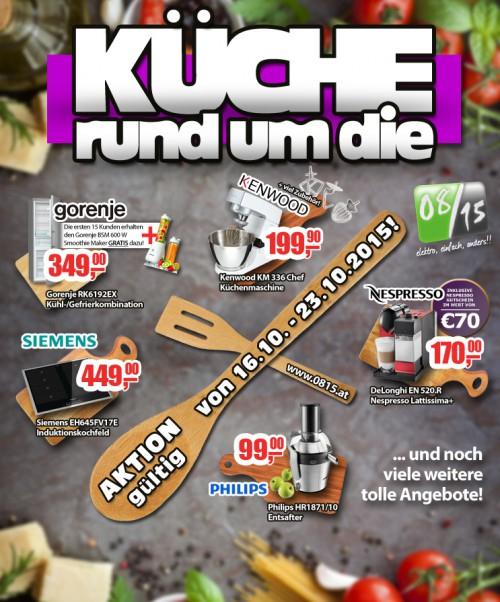 0815.at: Angebote rund um die Küche! u.a. mit: Philips HR1871/10 Entsafter für 99€