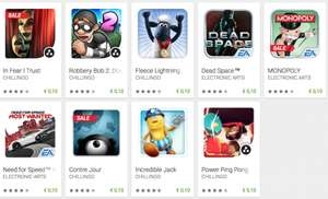 """[Android] 9 """"EA"""" bzw. """"CHILLINGO"""" Spiele für je 0,10€!! u.A. Dead Space, NFS Most Wanted @Google Play Store"""
