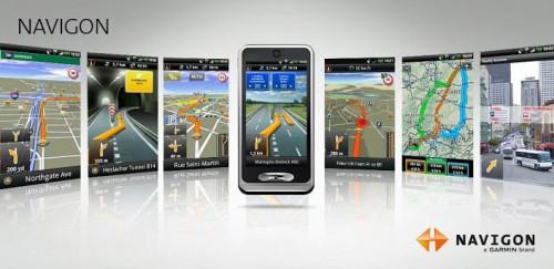 Navigon Europe (Android, Windows) ab 39,95 € - bis zu 38% sparen