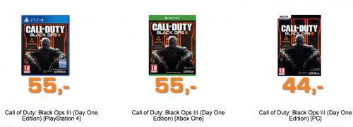 [Saturn.at] Call of Duty Black Ops 3 ab 44€ vorbestellen