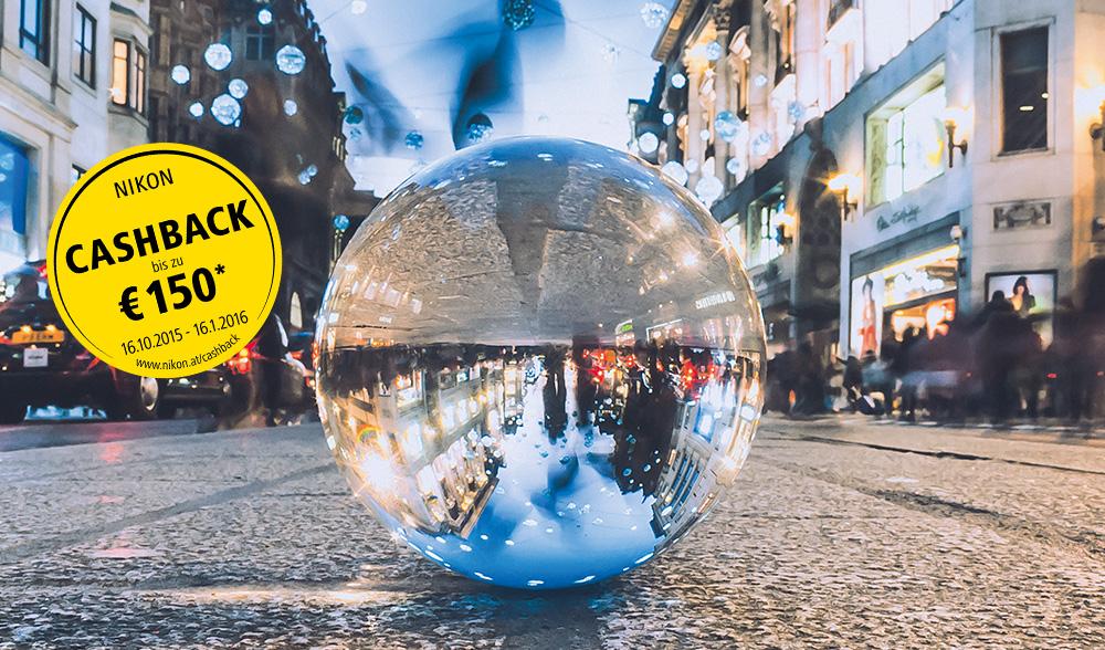 Nikon Cashback Aktion - bis zu 150€ Sofortabzug