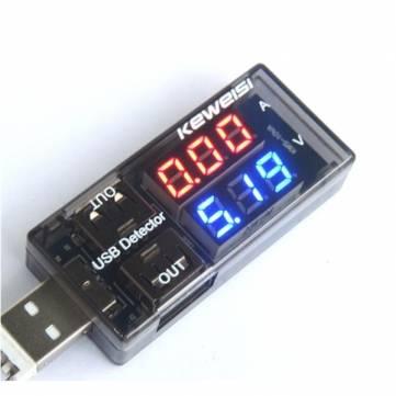 USB Strom-Messgerät um 2,68 € inkl Versand (Multimeter, Voltmeter, Amperemeter)
