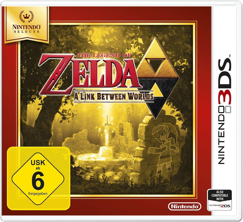[Amazon.de] 3DS Nintendo Selects Games reduziert; zB Zelda: A Link Between Worlds ab 15,99€ ( Prime)