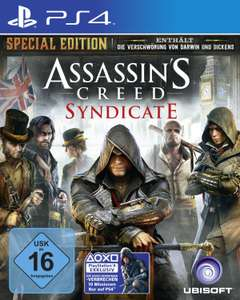 [Amazon.de] Assassins Creed Syndicate Special Edition (PS4/ Xbox One) für 51,99€