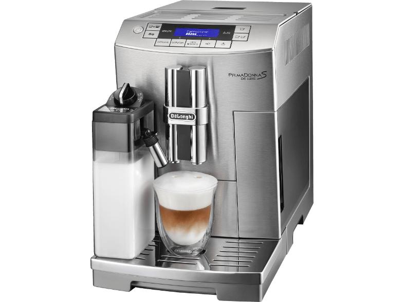 Schnell zugreifen! - DE LONGHI ECAM 28.465.M PrimaDonna S De Luxe Kaffeevollautomat € 889 -11% sparen - Angebot nur bis 24.10.2015 gültig!