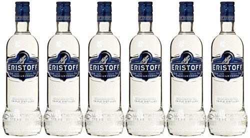 Amazon: 6x Eristoff Wodka (6x 0,7l) um 27,50 € inkl Versand - 62% sparen