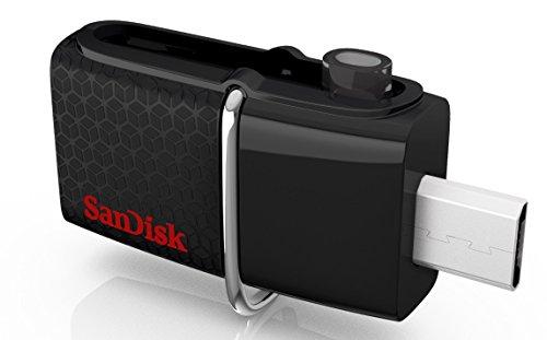 SanDisk Ultra Dual USB 3.0 Stick (32 GB, OTG) um 14 €