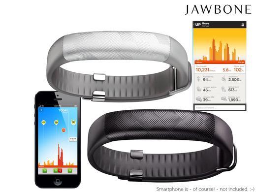 iBood: Jawbone UP2 Aktivitäts-/Schlaftracker-Armband für 75,90€