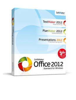 Office 2012 für Windows (SoftMaker) kostenlos - 55 € sparen