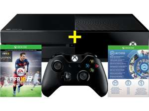 MICROSOFT Xbox One 500GB inkl. FIFA 16 (download Code) + HALO5 Gratis! + 1 Monat EA Access gratis