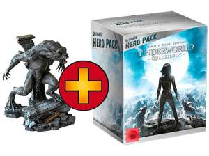 Saturn Tagesangebote Underworld 1-4 (Ultimate Hero Pack + Figur) Action Blu-ray  für 49 €