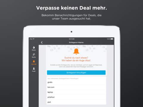 Preisjäger App Update ist da - Suche funktioniert wieder - Österreichs einzige Schnäppchen-App