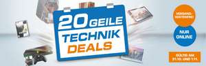 Saturn - 20 Technik-Deals - u.a. mit: Dying Light (PlayStation 4 / Xbox One / PC) für 20€
