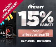 15% Rabatt auf alles* von ESN - VERLÄNGERT!!!