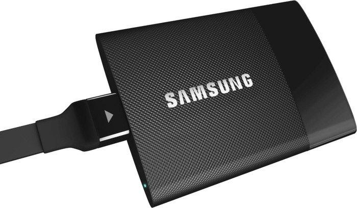 Samsung externe SSD 250 GB um 90 € - 29% sparen