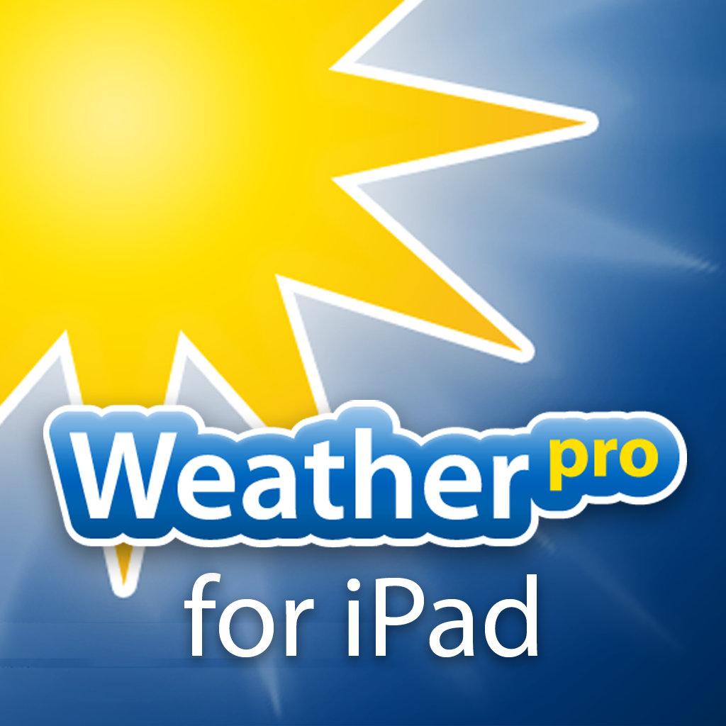 """""""WeatherPro"""" für iOS um 0,99 € - statt 3,99 € (iPad)"""