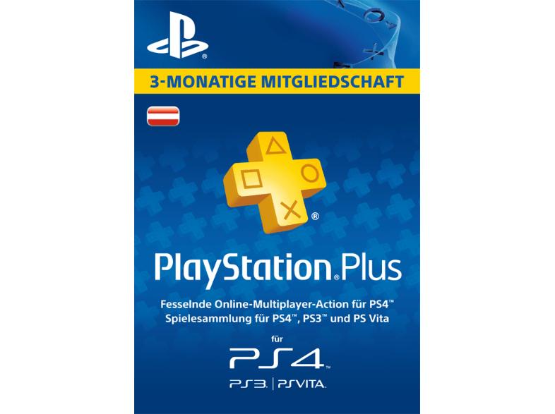PlayStation Plus Mitgliedschaft - 3 Monate für 13€