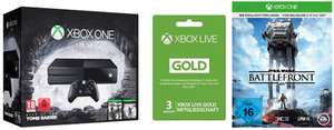 [Amazon] Top 1TB Xbox One Bundle mit Tomb Raider Bundle, SW Battlefront + 3M Xlive