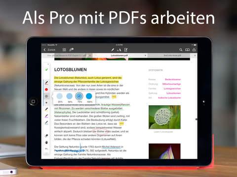 App Store: PDF Expert 5 (iOS) komplett kostenlos! - Ersparnis von 9,99€