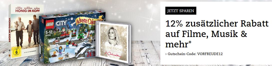 [Thalia.at] -12% auf Filme, Musik und mehr...