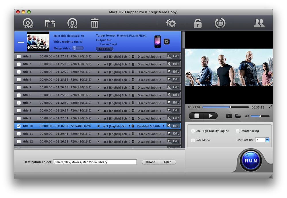 [Thanksgiving] €51,95 DVD Backup Software für Mac OS aktuell GRATIS