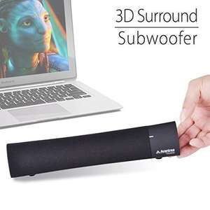 Avantree 3D Bluetooth Soundbar (10 W) um 39,99 € - 20% sparen
